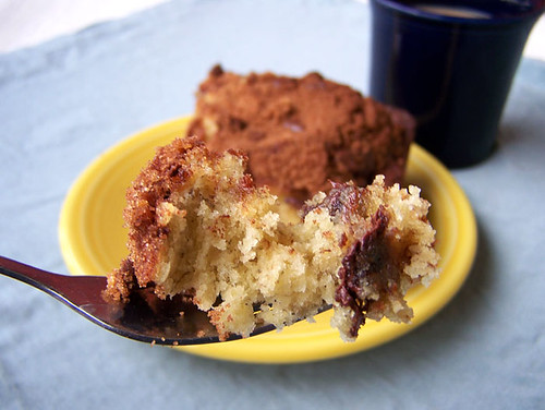 Banana Coffee Cake with Chocolate Chip Streusal
