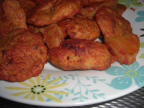 Patatesli tavuk köftesi tarifi(resimli)