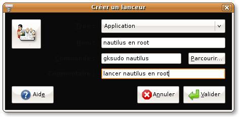nautilus root