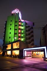 Annex Love Hotel (Bracus Triticum) Tags: japan night hotel neon 日本 fukuoka lovehotel kyushu annex kitakyushu 九州 福岡県 平成20年 flickrlovers