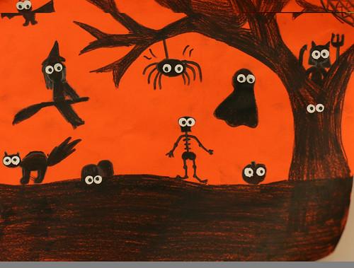 Alik's spooky silhouette