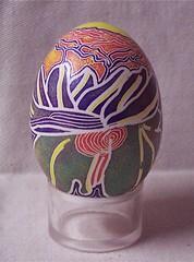 (warrior of tenderness) Tags: eggart paintedeggs michellebellerose artonshell