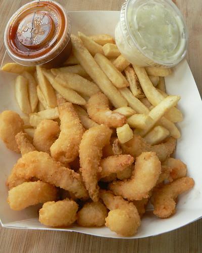 Shrimp Dinner, Half Order
