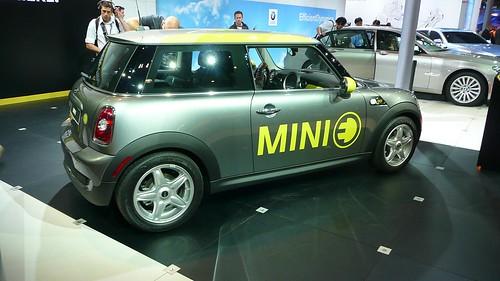 MINI-E unveiling