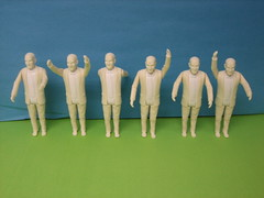 Seth Godin Action Figure - Unpainted Figure