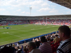 rugby/football stadiums (idlebull) Tags: football rugby stadiums oldtrafford grandfinal superleague thestoop keepmoat