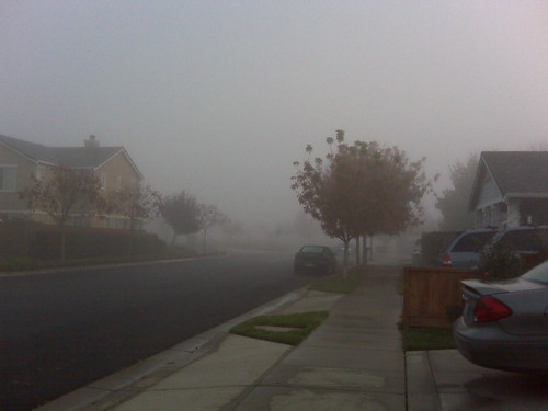 Another morning of fog