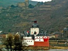 a castle & a fort (qonita) Tags: germany rhineriver