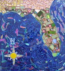 Mosaic Map of Florida