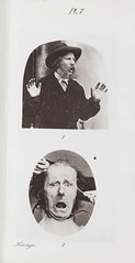 ´Fear´ from ´The Expression of Emotions in Man and Animals´ London 1872.  Charles Darwin (1809-1882)