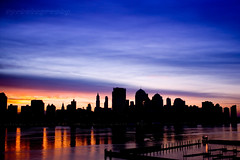 The Horizon (DP|Photography) Tags: sunrise jerseycity horizon nyskyline hudsonriver soe lowermanhattan platinumphoto overtheexcellence debashispradhan dpphotography dp|photography