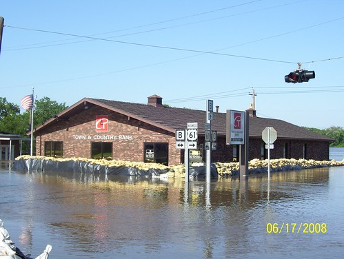 Flooding in La Grange, MO