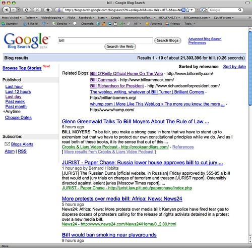 Bill Cammack = #2 blog related to 'bill' -<br /> December 14, 2008