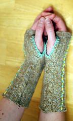 leethal ninja mitts!