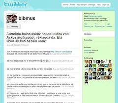 Panel de anuncios de Twitter