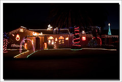 Decorated for Christmas (Ian Junor) Tags: christmas house southafrica lights capetown decorated festiveseason kirstenhof ifijay