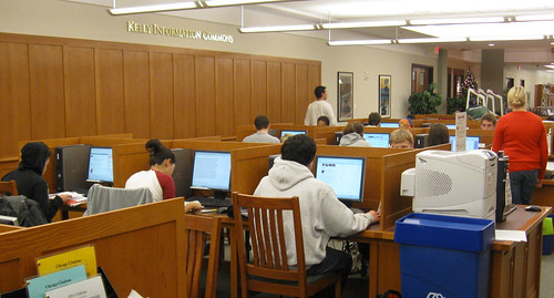 Finals in Library