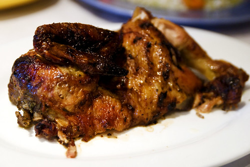 1/2 rotisserie chicken