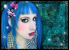 Modern Mermaid (Naitoyuki4444710) Tags: pink wallpaper paris anime art japan illustration lune logo de photography petals rainbow spain asia kei pics web banner goth manga super blogger hyde junior oriental visual vamps larme larcenciel suju heechul naitoyuki ainafetse