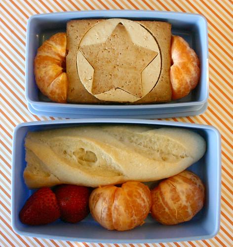 Kindergarten Bento #245: October 7, 2009