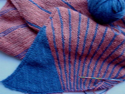 striped shawl 2