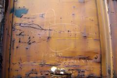 COLOSSUS OF ROADS (TRUE 2 DEATH) Tags: railroad streetart art train graffiti streak tag graf railcar boxcar railways hobo railfan freight freighttrain rollingstock moniker hobotag hobomoniker colossusofroads benching freighttraingraffiti icouldscream