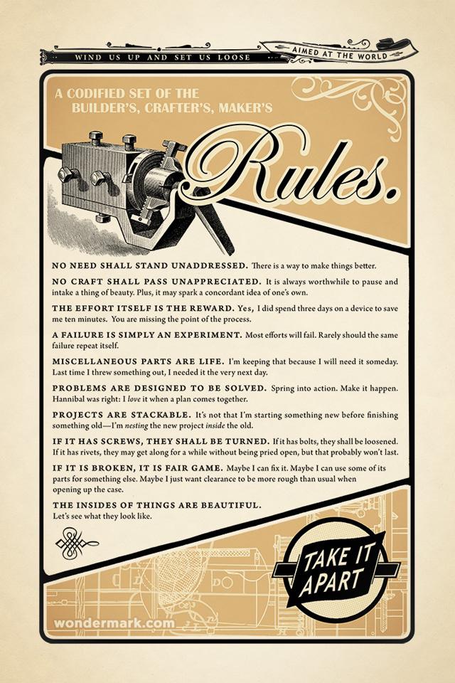 tinkerer's rules