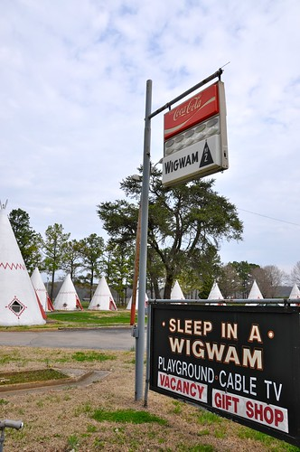 Sleep in a Wigwam Daytime