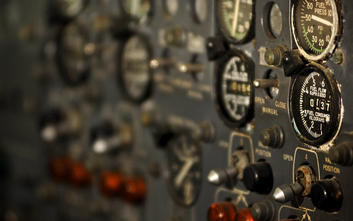 Boeing 707 Controls - Fuel Flow
