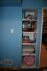 Toy Room Shelves
