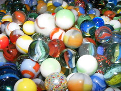 Alvanche of marbles! (JimmyMac210 - just returned home from hospital) Tags: colours busy rush marbles variety crowded overflow flickrlovers