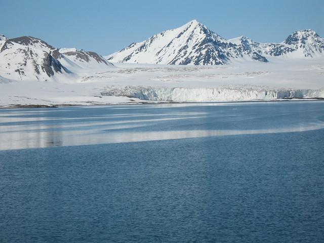 Esmarkbreen (Esmark Glacier), Svalbard, Arctic Norway