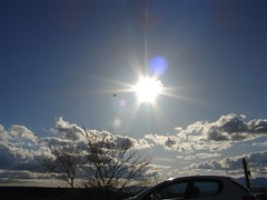 Sun color, clouds filling the sky (sotoz) Tags: serbia kozani  metoxi aliakmonas  paliogratsano   benbendos