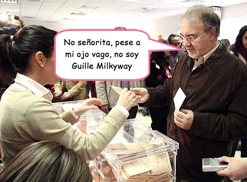 Solbes se cree Guille Milkyway