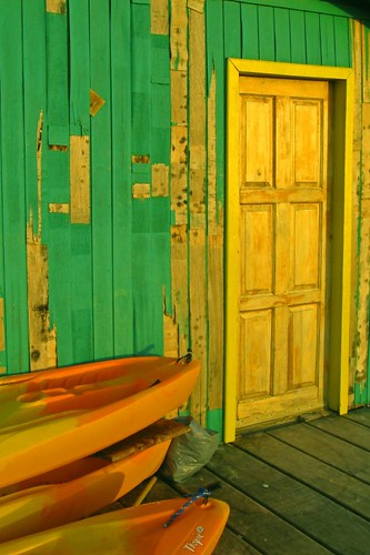 Weathered Boat Shed