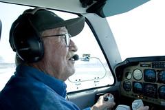 John piloting