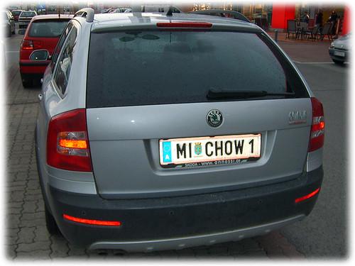 John Chow\'s car