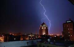 kaboom (jreidfive) Tags: storm tower virginia downtown flash roanoke lightning thunder wachovia