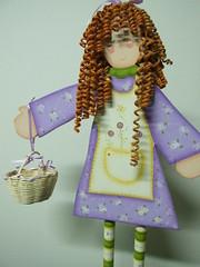 cachos vermelhos -  curly red (AP.CAVALARI / ANA PAULA) Tags: baby dolls arte handmade artesanato fabric bebe patchwork cor desenho quadros tecido anapaula cavalari anapaulacavalari apcavalari