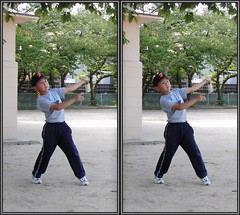 3D-parallel-CIMG5421 (pinboke_planet) Tags: kids 3d baseball casio stereo parallel exf1