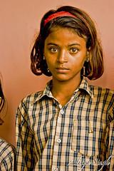 Schoolgirl from Delhi (dickysingh) Tags: people india portraits outdoor aditya singh dicky adityasingh ranthamborebagh theranthambhorebagh wwwranthambhorecom