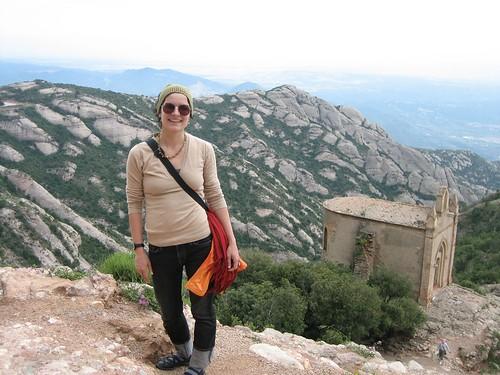 080523. me and the hermitage. montserrat.