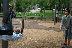 中央公園-好一對父子情深阿