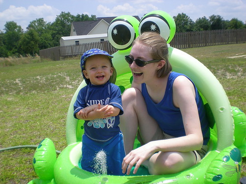 In the Froggy Pool