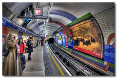Tube (Roger.C) Tags: london electric canon dark underground circus transport tube tracks sigma piccadilly line burn tiles dodge hdr merged 30d thisisnow tonemapped 1770mm photomatrix aplusphoto diamondclassphotographer flickrdiamond