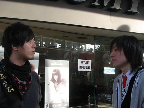 Masashi & Kazu from Hanjiro