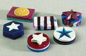 4th of July Soaps