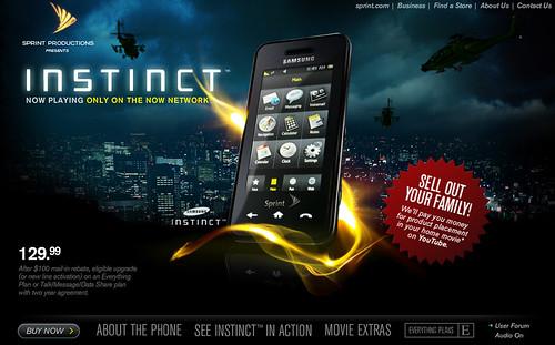 Sprint: Instinct
