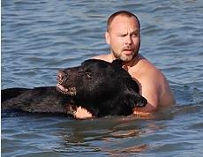 Man Rescues 375lb Bear 1