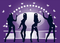Girls posing (OSVALDRU) Tags: girls people ballet black beauty fashion silhouette sport sex yoga female illustration butterfly painting hair stars table person lights mirror jumping healthy model women dress dancing action room joy posing lifestyle happiness human hip relaxation sensuality shape vector isolated touching